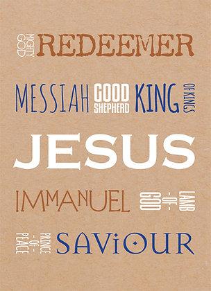 Magnet: Names of Jesus