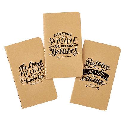 Rejoice Small Notebook Set - Philippians 4:4