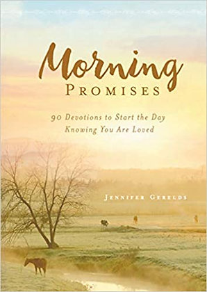 Jennifer Gerelds - Morning & Evening Promises - Devotional Flip Book