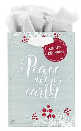 Peace on Earth Medium Gift Bag - Luke 2:14