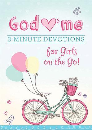 God Loves Me 3 Minutes Devotion For Girls On The Go