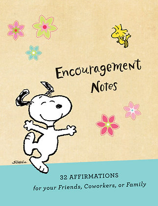 Peanuts - Affirmation Note Cards Snoopy