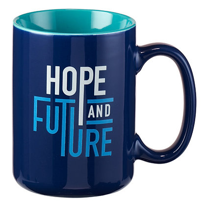Hope & Future Mug; Jeremiah 29:11