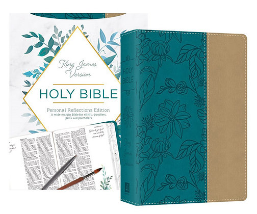 Personal Reflections KJV Bible with Prompts Paperback