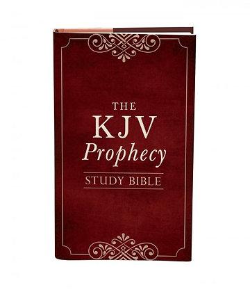 The KJV Prophecy Study Bible Hardback  Christopher D. Hudson