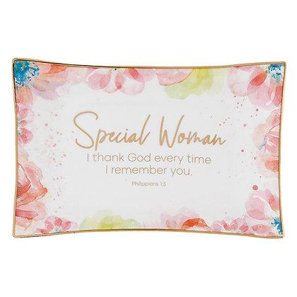 Summer Fields - Trinket Tray - Inspirational - Special Woman