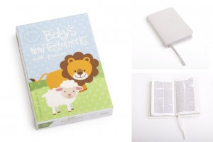 BABY'S NEW TESTAMENT WITH PSALMS CSB VERSION (WHITE)
