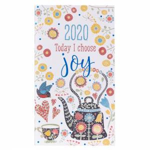Today I Choose Joy: 2020 Small Daily Planner