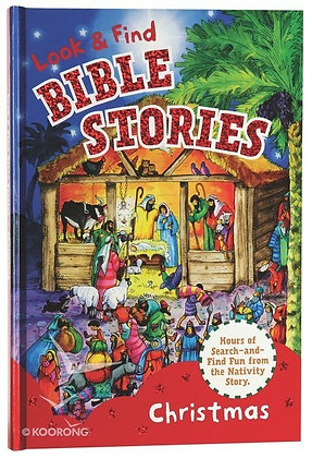 LOOK & FIND BIBLE STORIES - CHRISTMAS