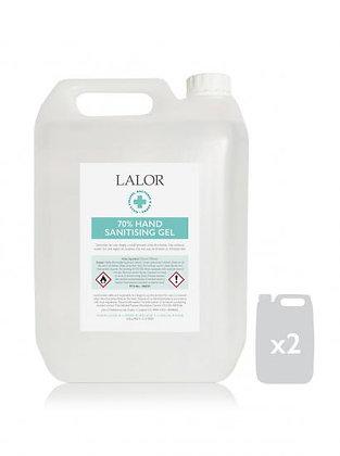 2 x 5 Litre Lalor Hand Sanitiser 70% Alcohol Content- 1