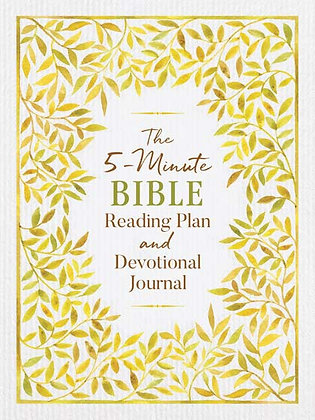 5-Minutes Bible Reading Plan Journal Edition Strauss