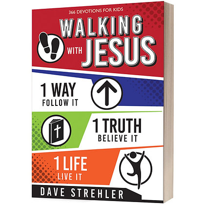 Youth Devotional Book; Walking With Jesus