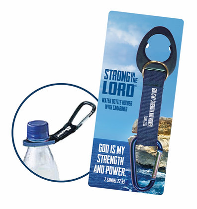God Is My Strength Water Bottle Holder