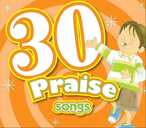 30 Praise Songs CD  Karen Mitzo Hilderbrand