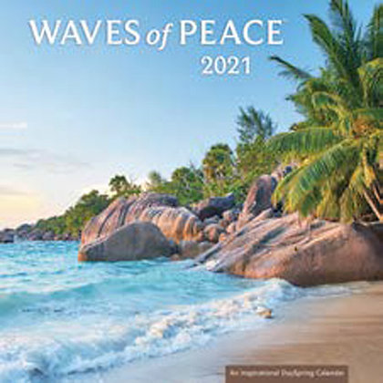Waves of Peace Mini Wall Calendar 2021