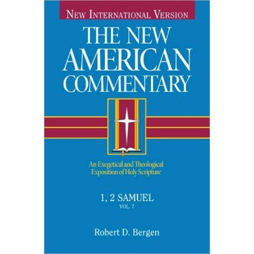 1, 2 Samuel Hardback The New American Commentary by Robert D Bergen