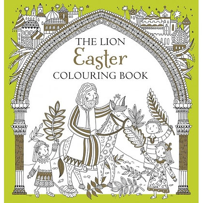 Lion Easter Colouring Book, The Jackson, Antonia Ferri Giuil EAN ; 9780745976907