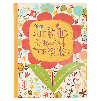 The Bible Storybook for Girls Hardcover EAN:9781432120511