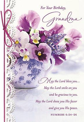 Grandmother's birthday card