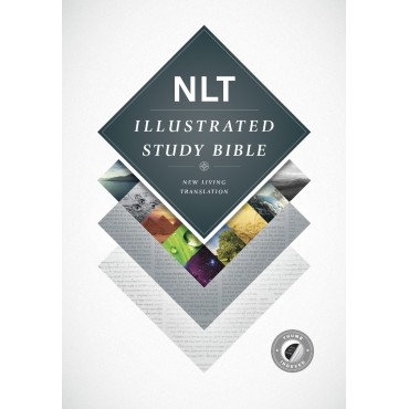 NLT Illustrated Study Bible Hardback Thumb Indexed by New Living Trans