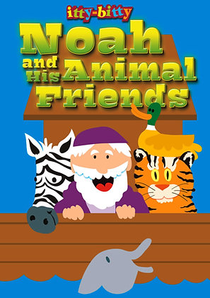 ITTY BITTY ACTIVITY BOOK - NOAH AND HIS ANIMAL FRIENDS