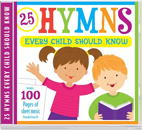 25 Hymns Every Child Should Know CD