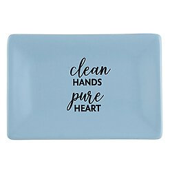 Clean Hands Pure Heart Soap Dish