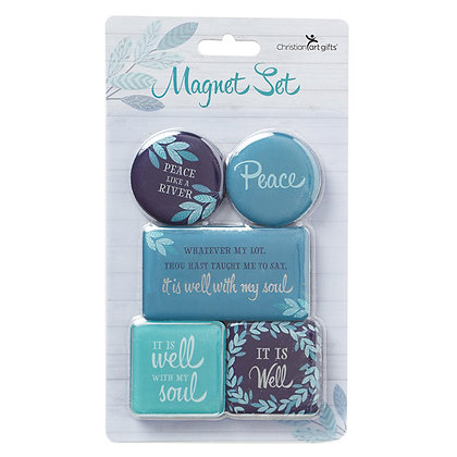 Is It Well With My Soul Magnet Set