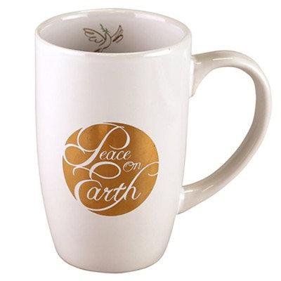 Peace On Earth Christmas Mug