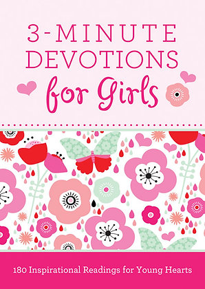 3-Minute Devotions For Girls Paperback