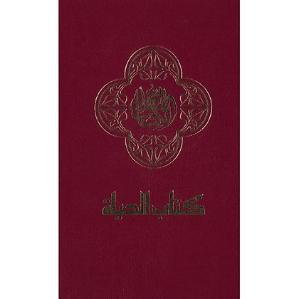 ARABIC BIBLE BURGUNDY