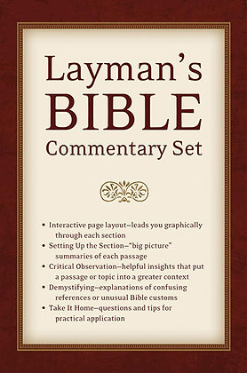 Layman's Bible Commentary Box Set