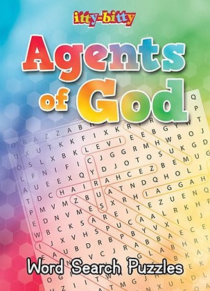 ITTY-BITTY ACTIVITY BOOK - AGENTS OF GOD