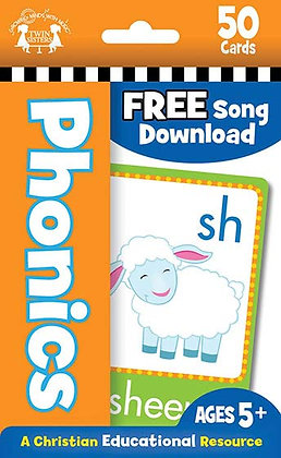 50 Phonics Flash Cards  Karen Mitzo Hilderbrand