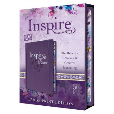 Inspire Praise Bible Large Print NLT EAN 9781496433466