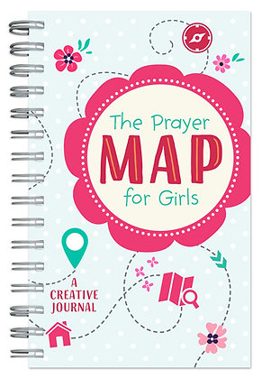 The Prayer Map for Women A Creative Journal Compiled by Barbour Staff Quick