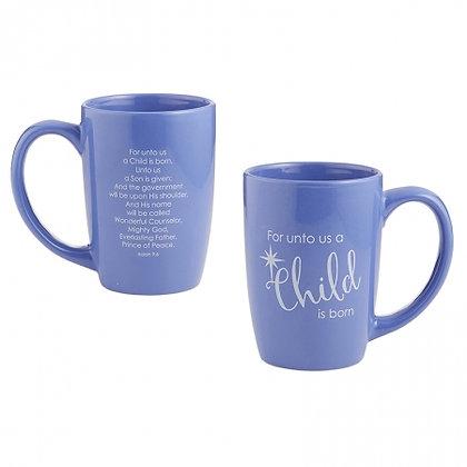 A Child Is Born Christmas Gift Mug