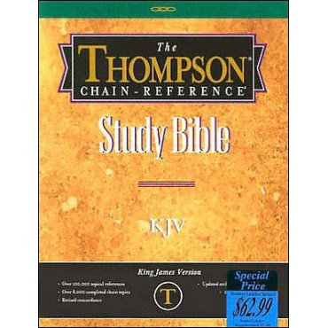Thompson Chain Reference Bible -KJV