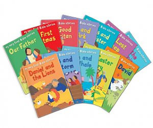 My Very First Bible Stories Value Pack Of 12 Paperback