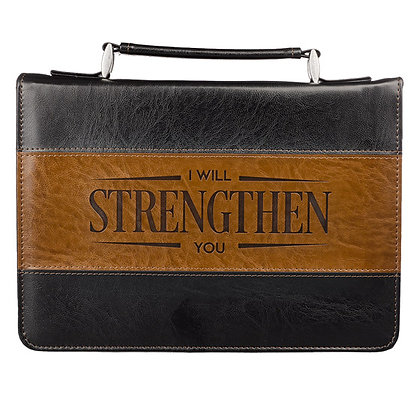 I Will Strengthen You Isaiah 41:10 Bible Cover
