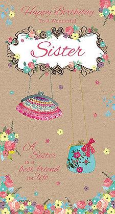 Sister's birthday card