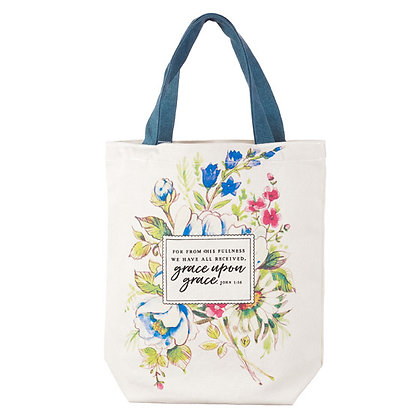 Tote Bag: Grace Upon Grace