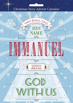 His Name Is Immanuel Christmas Advent Card