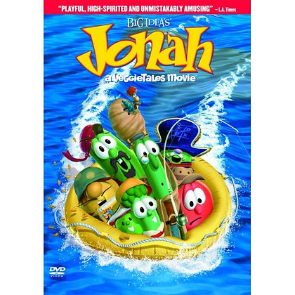 JONAH THE MOVIE DVD VEGGIETALES,