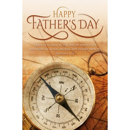 Father's Day Bulletin (Pack Of 100)