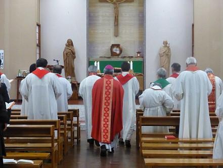 教区司祭総会:延岡カトリック教会