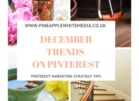 December trends on Pinterest