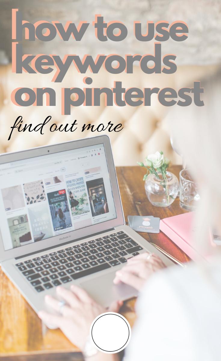Laptop and Pinterest activity