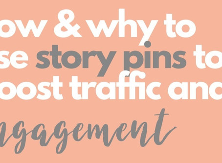 all about new Pinterest Story Pins