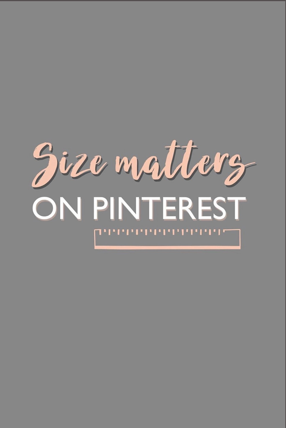 Size matters on Pinterest, 2:3 ratio is optimal